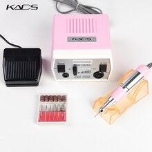 Аппарат для маникюра и педикюра KADS, электрический аппарат с ручкой и сверлом, 4 цвета, 30000 об/мин