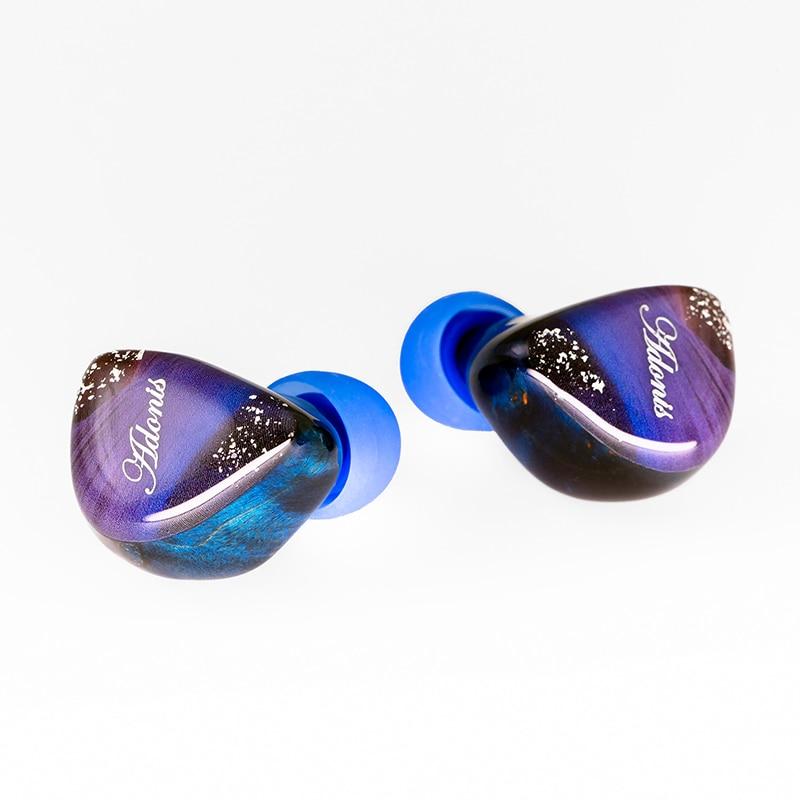 QOA Adonis 10mm Dynamic Driver+2BA HIFI In Ear Earphone CNC Wooden Shell Earbuds with 2Pin 0.78mm DJ Monitor Headset QOA Vesper