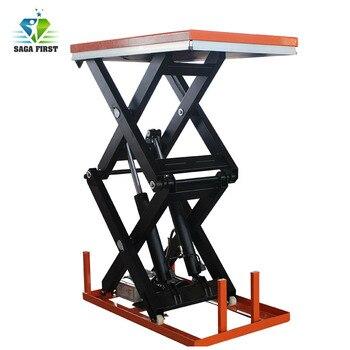 4ton 5ton Stationary Truck Hydraulic Cargo Scissor Lift Table