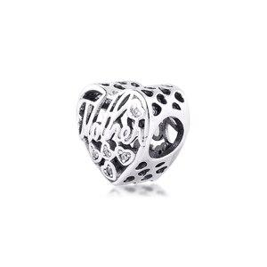 Image 3 - Adatto Pandora Braccialetto Perline 925 Sterling Silver Madre e Figlio Legame di Modo Pendenti e Ciondoli Donne Alla Moda Perline per Monili Che Fanno FANDOLA