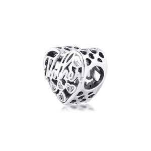 Image 3 - Fits Pandora Bracelet 925 Sterling Silver Mother & Son Bond Charm Silver Beads for Jewelry Making Party Gift for Women kralen