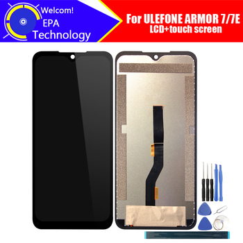 6.3 inch ULEFONE ARMOR 7 LCD Display+Touch Screen Digitizer Assembly 100% Original New LCD+Touch Digitizer for ARMOR 7E+Tools
