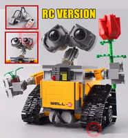 Nouveau MOC RC Robot mur E idée ajustement Legoings technique Robot chiffres modèle bloc de construction briques bricolage jouet cadeau enfants anniversaire noël