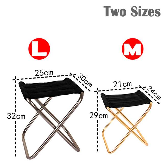 Folding Fishing Chair Lightweight Picnic Camping Chair Foldable Aluminium Cloth Outdoor Portable Easy To Carry Outdoor Furniture 2