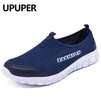 UPUPER Breathable Mesh Sneakers Women Shoes Fashion Lightweight Summer Slip-On Walking Shoes Female Sport Shoes For Women