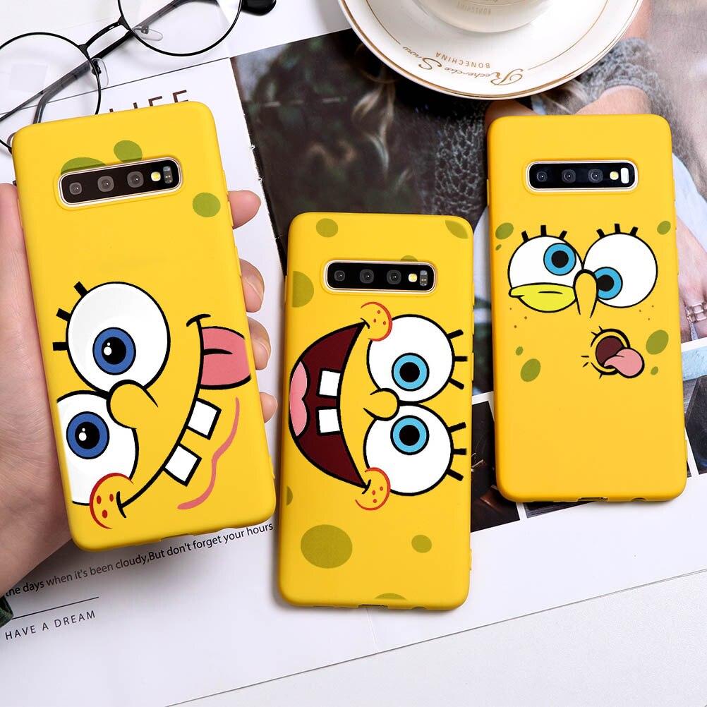 Spongebobs Squarepants Best Friend Case For Samsung Galaxy A70 A40 A50 A51 A71 A30 A21 A81 M30S A10e Note 8 9 10 Lite Plus Case