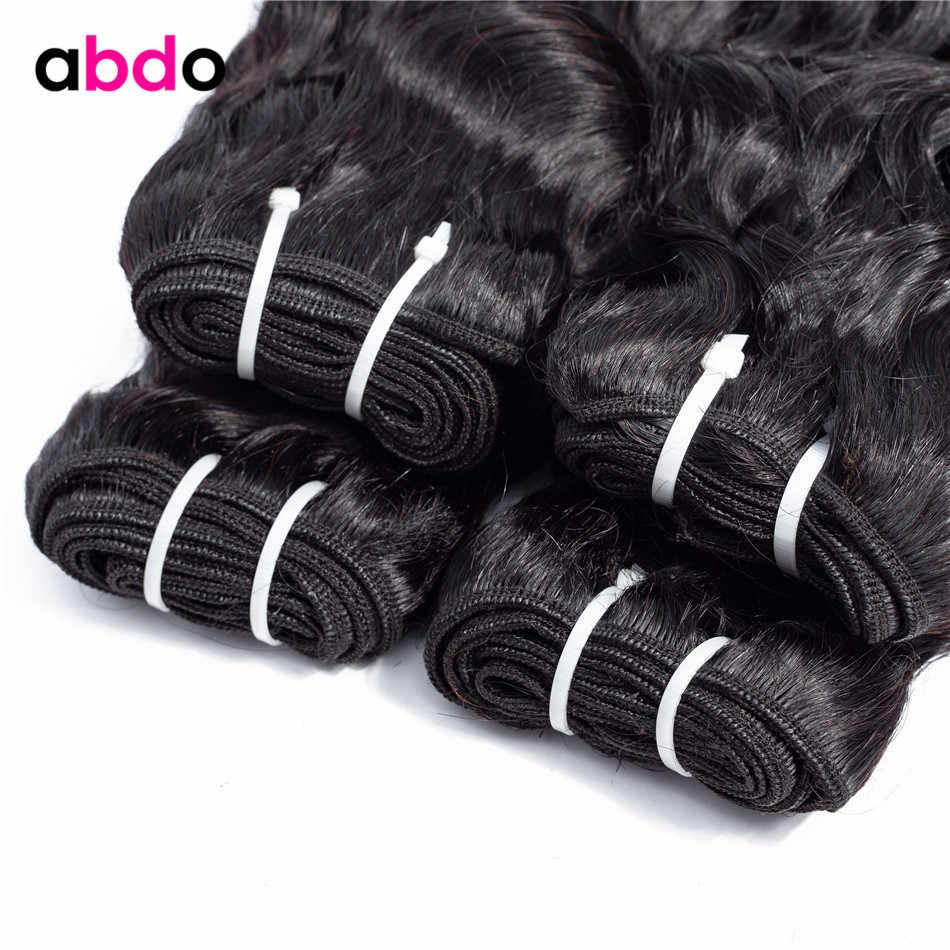 Water Wave Menselijk Haar Bundels Braziliaanse Haar Weave Bundels Natuurlijke Kleur Remy Human Hair Extension Abdo