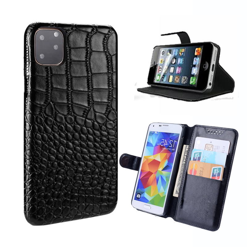 Crocodile pattern PU Leather Case For Lenovo ZUK Z1 Z2 Edge Vibe C Shot Z90 P2a42 P1Ma40 P1 Pro Turbo A2010 A2020 phone cover