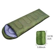 Легкий 4 сезона спальный мешок для кемпинга 210x75x30 см для путешествий на открытом воздухе, походный теплый спальный мешок от холода, спальный мешок для альпинизма