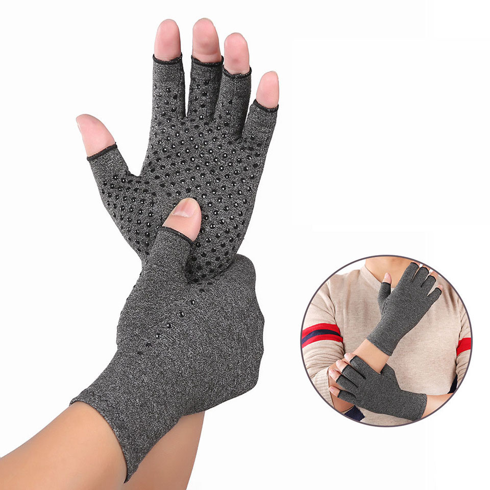 Arthritis Compression Gloves For Women And Men -Copperfit Compression Arthritis Pain Relief Hands For Rheumatoid Arthritis 2