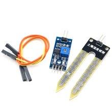 Умная электроника почвы гигрометр для определения влажности Датчик влажности модуль для arduino макетная плата DIY робот умный автомобиль