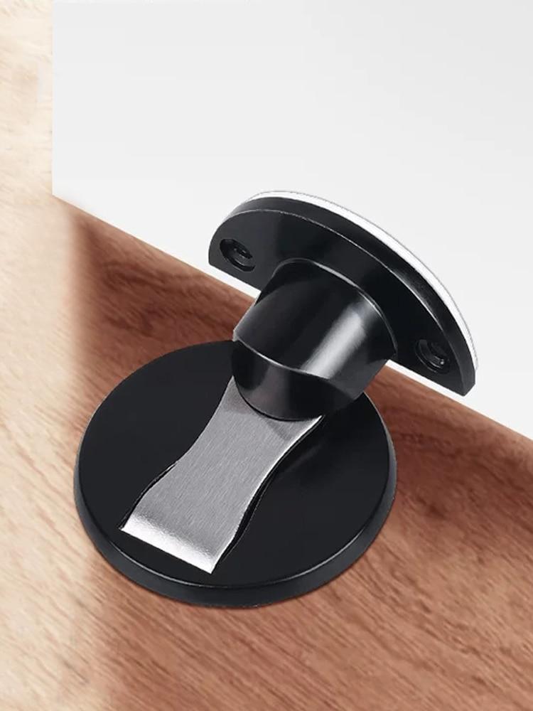 Hardware Stops Door-Stopper Magnet-Door Non-Punch Hidden AOBT Six-Colors Available