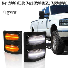 1 Pair Switchback White/Amber Side Mirror Lights for Ford F250 F350 F450 F550 2008-2016 LED signal Light oil cooler kit for ford 6 4l powerstroke diesel engine f250 f350 f450 8c3z6a642a
