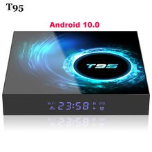 2020 NEW TV Box Android 10.0 Google Voice Assistant Netflix
