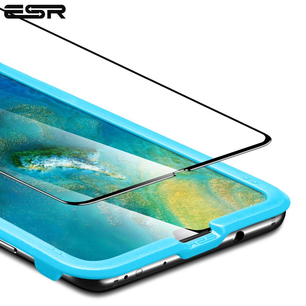 ESR Screen Protector For Huawei Mate 20 Mate 20 X 3D Full-Coverage 9H Tempered Glass Protective Film For Huawei Mate 20 Pro
