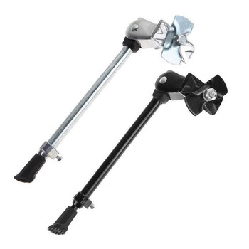 New 24 to 27 Alloy Adjustable Bike Support Foot Brace Kick Stand For MTB Road Mountain Bike Cycling Bicycle Parts 16 to 27 alloy adjustable bicycle kick stand bicycle support foot brace kickstand for mtb road bike cycling bike accessories