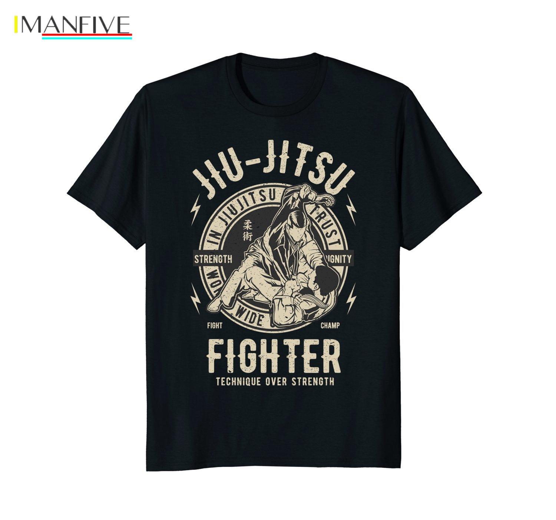 Short Sleeve Cool Casual JIU JITSU T SHIRT BJJ TEE Brazilian Jiu Jitsu T-Shirt O-Neck Shirt Men