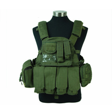 outdoor Lbt 6094 Nylon 6094 Military Tactical Vest 800d Army Seals Molle Fighters Paintball Cs Wargame Molle Protective Vest недорого