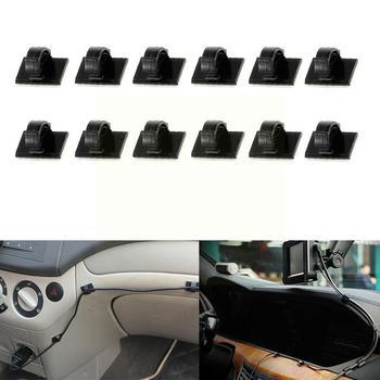 30 sztuk 3M samoprzylepne drutu krawat zacisk kablowy klipy uchwyt Dash na biurko samochodu GPS kamera schowek na słuchawki tabeli tanie i dobre opinie Godersi CN (pochodzenie) 1 9cm TWORZYWA SZTUCZNE Zapięcia i klipsem 1 4cm