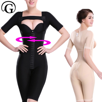 Recovery Body Shaping Corset After Surgey Shaper Women Bra Lifter Bodysuits Waist Trainer Tummy Trimmer Shapewear Firm 3975