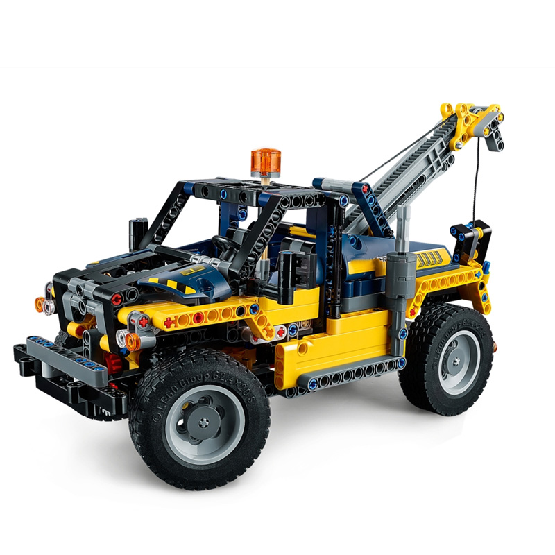 New 2 in 1 Technic Series Forklift Compatible Technic <font><b>legoing</b></font> <font><b>42079</b></font> Car Set Building Blocks Bricks Toys for Christmas Gifts image
