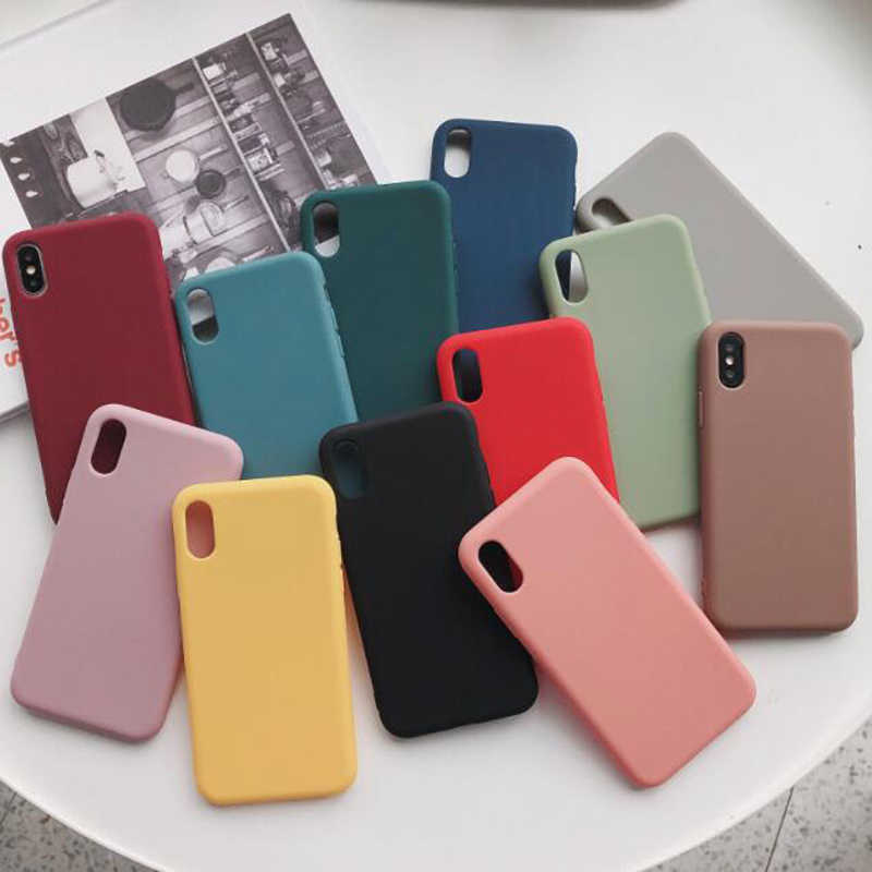 Lamocase silicone phone case for huawei honor 20 pro 8x 8A 8C 20 8 9 10 lite 7x 7s 7a 7c pro candy color cover