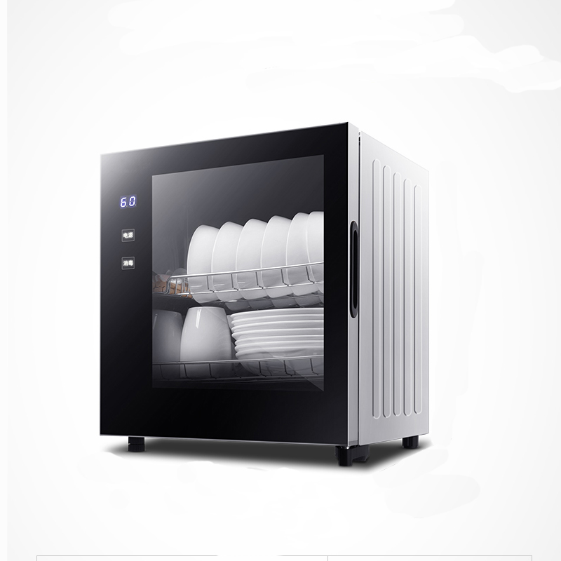 Double-layer Disinfection Cabinet Household Small Vertical High-temperature Disinfection Sideboard Cabinet Mini DC01