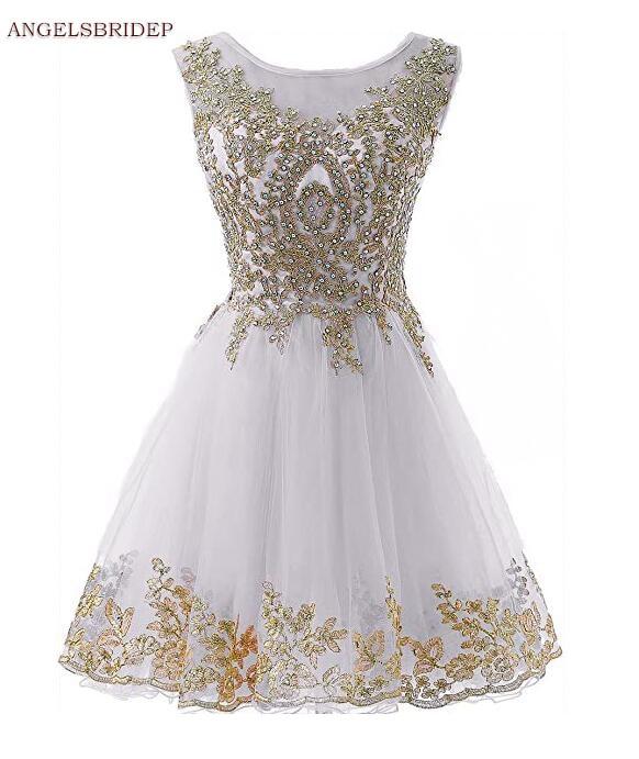 ANGELSBRIDEP-Short-Homecoming-Dresses-Vestidos-de-festa-Vintage-Gold-Applique-Crystal-Junior-Graduation-Formal-Party-Gowns