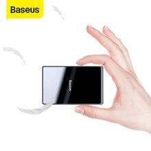 Baseus 15W Tề Sạc Không Dây Di Động Siêu Mỏng Không Dây Sạc Miếng Lót cho Iphone 11 Pro X XS XR 8 samsung S10 S9 Xiaomi Mi 9