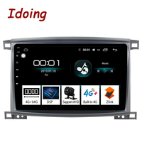 Idoing 10.24G+64G 8 Core Car Radio Android Player For Toyota Land Cruiser 100 LC100 Lexus LX470 2005 2007 GPS Navigation
