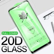 20D koruyucu cam OPPO A3S A5 A5S Reno 2 ACE A11 A11X A9 F11 Pro 2020 koruyucu temperli ekran cam tam kapak cam