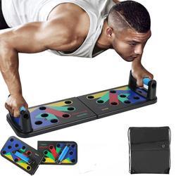 Push-up Stehtf/ür Gym Body Training 9-in-1Faltbare Liegest/ützbrett f/ür Heim/übungen arteesol Push Up Board