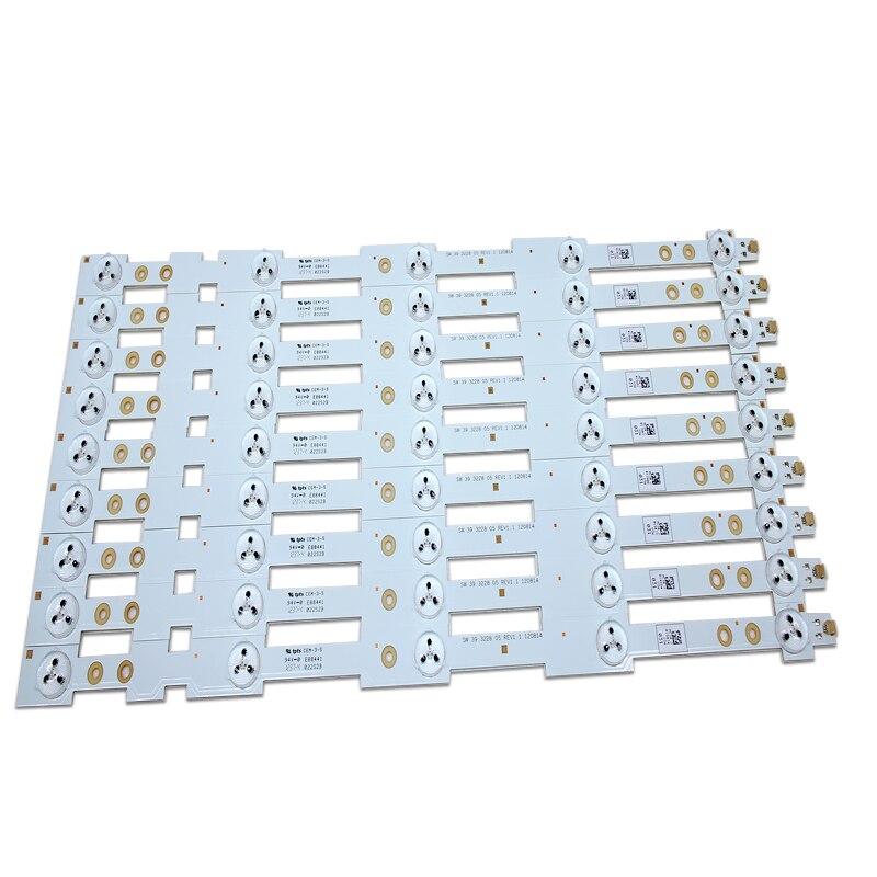 """18 sztuk/partia 39 """"taśmy LED SW 39 3228 05 REV1.1 120814 5 diod LED (1 LED 3 V) 420mm w Komputery przemysłowe i akcesoria od Komputer i biuro na AliExpress - 11.11_Double 11Singles' Day 1"""