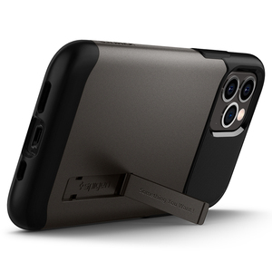 "Image 5 - Spigen Slim Armor Case for iPhone 12 Pro / iPhone 12 (6.1"")    Drop Resistance & Kickstand Cases"