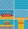 Баннер на день рождения с игрушка фон для фотосъемки для мальчиков для дня рождения история вечерние декор стен украшения торта десерт стол...