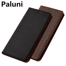High-end PU leather magnetic flip phone case for Huawei P Smart Z/Huawei P Smart flip back cases with card slot holder funda(China)