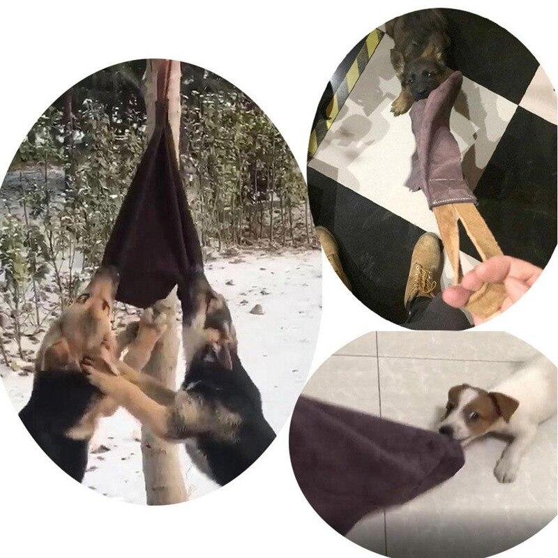 mordida pano treinamento do cão mordida toalha