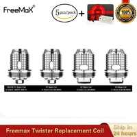 5pcs/lot Original Freemax Twister Replacement Coil S316L X1 X2 X3 Mesh TX1 NX2 TNX2 Mesh Atomizer Core for Fireluke 2 Vape Tank