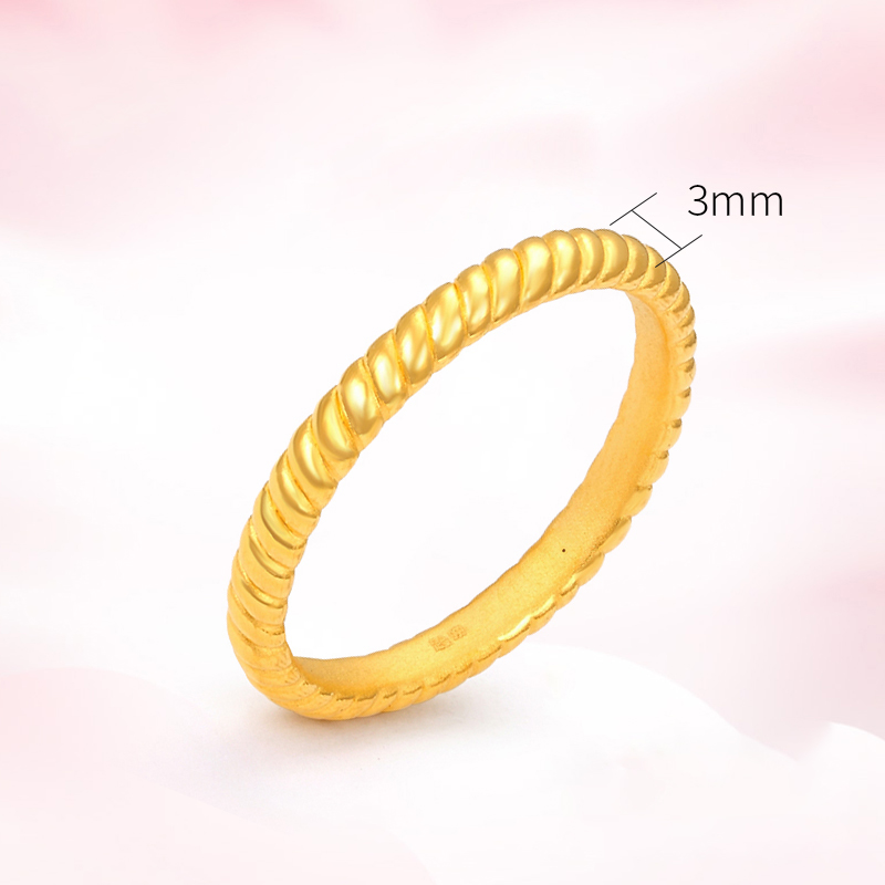 NEW AUTHNETIC 24K Yellow Gold Pendant Elegant 3D Love Heart For Lover Lucky Bead