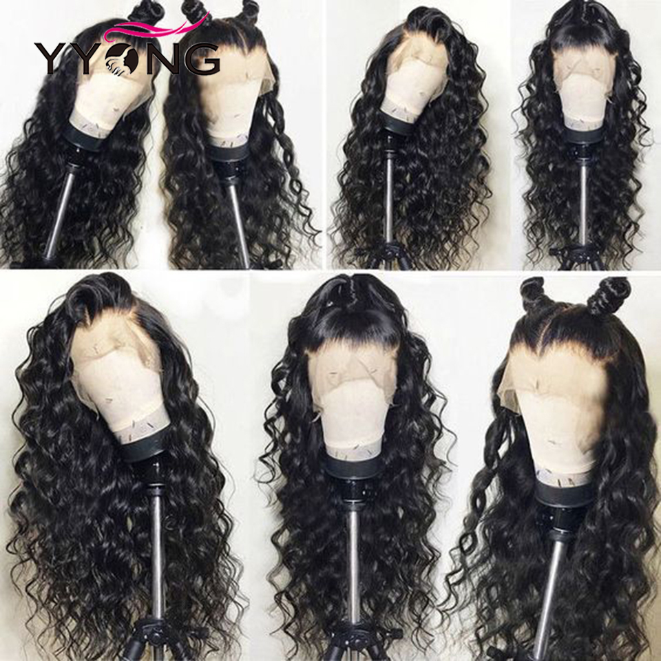 YYong 30inch 13X4 Lace Front  Wig  Loose Deep  Lace Closure Wig Natural Hairline 4