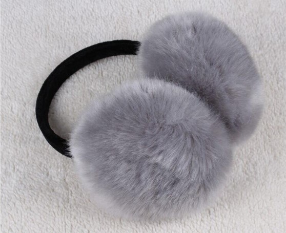 Winter Earmuff Imitation Rabbit Fur Earmuff Thick Fur Winter Ear Warmer Fluffy Fur Headphone For Children And Adult