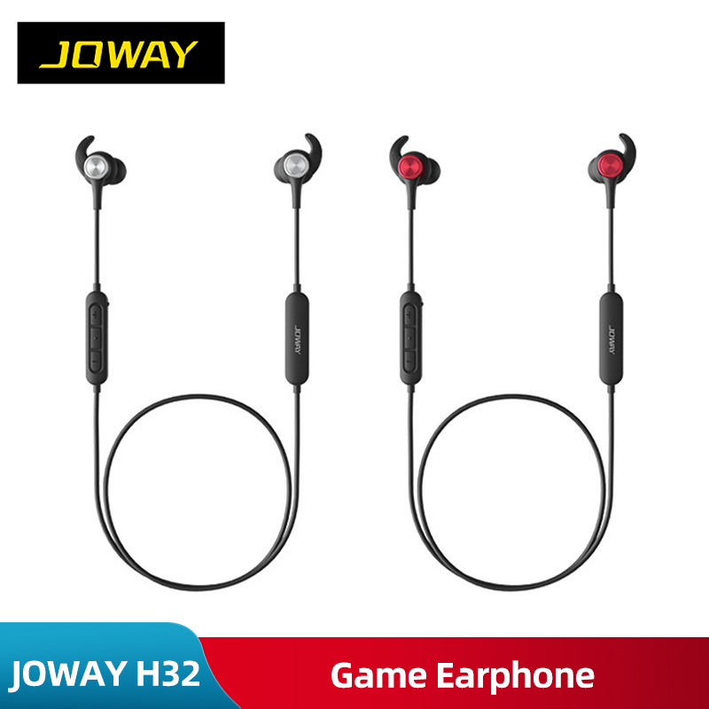 JOWAY H32 3D 360 Surround Wireless Bluetooth Eat chicken artifac Game Earphone Stereo Bass PUBG Magnetic Sport Headset With Mic image