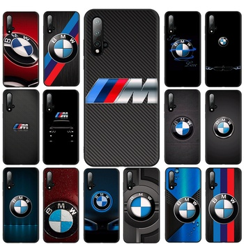Cool bmw Mobile Phone Case Black TPU Soft For Huawei P8 P9 P10 P30 P20 Lite Mini 2019 2018 P20 P30 Pro Cover image