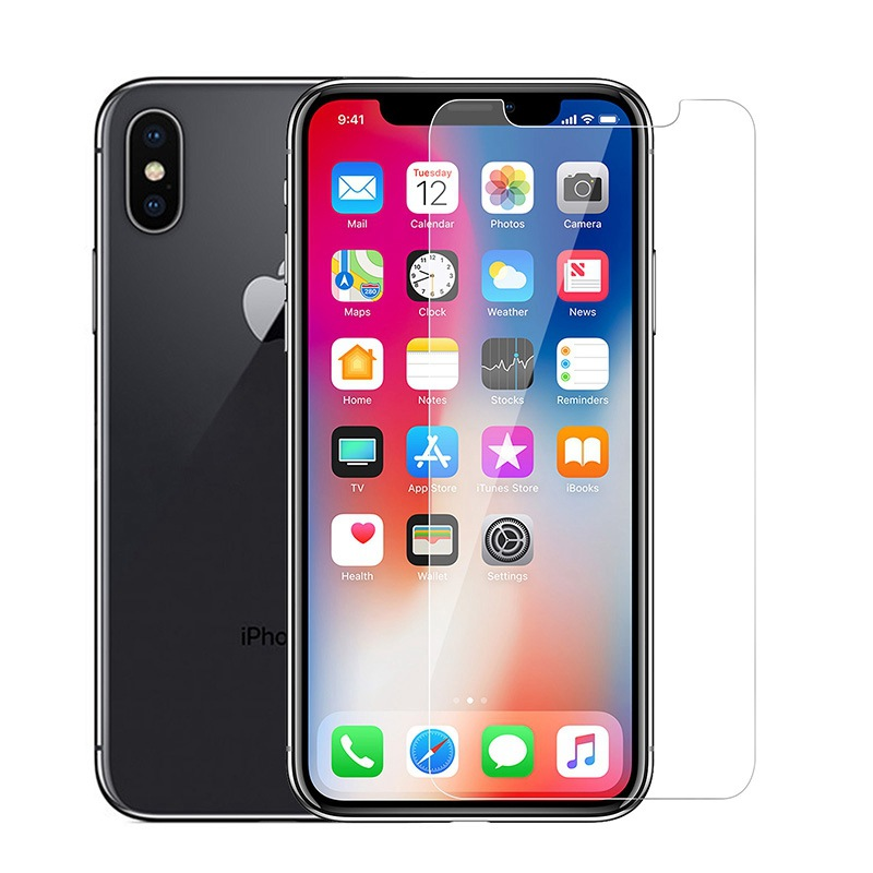 Felkin 9H 2.5D Tempered Glass for iPhone 11 Pro Max Xr X XS 5 6 6S 7 8 Plus Screen Protector
