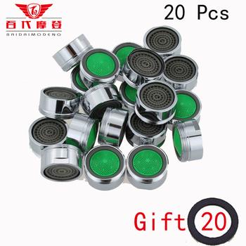 20 sztuk oszczędzania wody Aerator porcelana bateria do łazienki Bubbler wylewka netto miękki kwiat woda usta kwiaty aby zapobiec Splash tanie i dobre opinie BD-1088 Z tworzywa sztucznego
