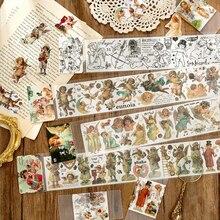 Stationery Scrapbooking-Sticker Label Washi-Tape Angel-Series Kawaii Cloud DIY Japanese
