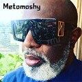 2020 óculos de sol quadrados de grandes dimensões dos homens marca designer óculos de sol feminino lente gradiente preto quadro vintage uv400