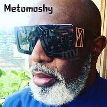 2020 Men's Oversized Square Sunglasses Brand Designer Sun