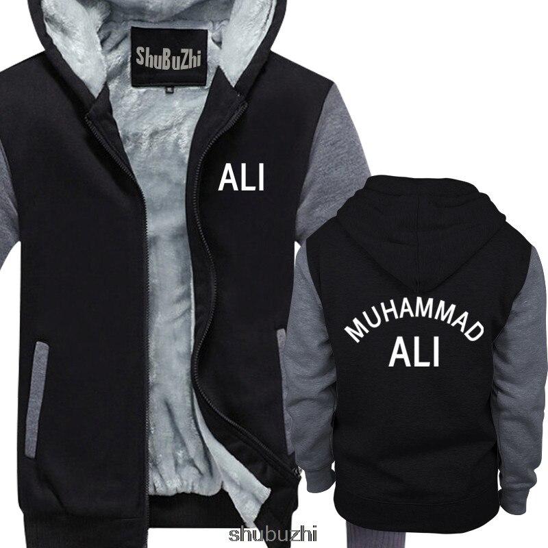 MUHAMMAD ALI / CASSIUS CLAY RINGSIDE VINTAGE BOXING thick hoody Cool Casual hoodie men sweatshirt sbz3133