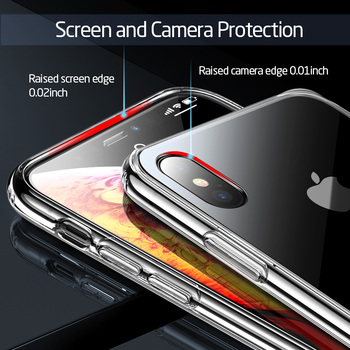 ESR Tempered Glass Case For iPhone 11 Pro X XR XS Max Shockproof Protective Cover Mirror Case For Apple iPhone iphon 11 2019 5